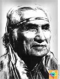 ritratto di capo indiano