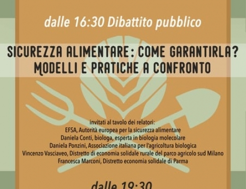 Evento: SICUREZZA ALIMENTARE: COME GARANTIRLA?